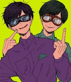 more choromatsu and ichimatsu All Anime, Me Me Me Anime, Ichimatsu, Light Novel, Artist Names, Anime Style, Game Character, One Pic, Really Cool Stuff