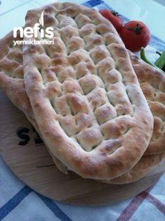 Tırnak Pide (kebapçı Pidesi) Tarifi Kebab Recipes, Bread Recipes, Healthy Recipes, Yummy Recipes, Pita Kebab, Pastry Art, Turkish Recipes, Bread Baking, Apple Pie