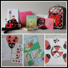 Justine: Verteltas Lieveheersbeestje Literacy Bags, Vader, Eric Carle, Ladybug, Gift Wrapping, Gifts, Numbers, First Class, Gift Wrapping Paper