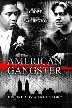 American Gangster -Alternative movie poster for the Ridley Scott #GangsterMovie #GangsterFlick