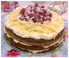 Pullantuoksuinen koti: Raikas ja herkullinen Red Velvet Cake