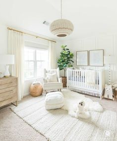 gender neutral nursery design with white walls and woodland decor - so. Beautiful gender neutral nursery design with white walls and woodland decor - so.,Beautiful gender neutral nursery design with white walls and woodland decor - so. White Nursery, Baby Nursery Decor, Baby Decor, Bright Nursery, Nursery Room Ideas, Project Nursery, Pottery Barn Nursery, Bohemian Nursery, Nursery Modern