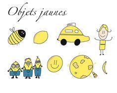 """@morgane.facilitation on Instagram: """"#sketchnotesfacile de cette semaine à pour thème les objets jaunes et comme le jaune est ma couleur c'était trop cool de faire ce…"""" Comme, Snoopy, Fictional Characters, Instagram, Art, Yellow, Objects, Color, Art Background"""