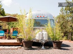 How cute this Airstream trailer in Ashland, Oregon!? #travel