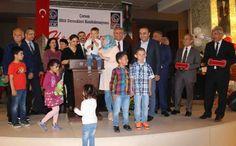 Başkan Karabağ, Çorum Hitit Dernekleri Konfederasyonu'nun düzenlediği etkinliğe katılarak her şeyin çocuklarımız için olduğunu söyledi