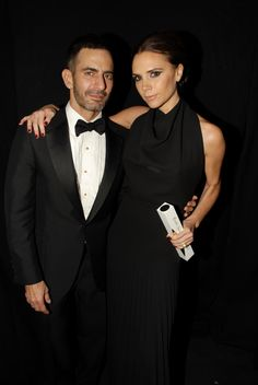 A leading British based designer brand that has excelled and made an impact on the international stage over the past year.  Victoria Beckham wins the 2011 award, presented by her friend Marc Jacobs.
