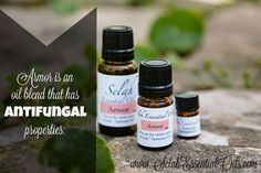 The oils in Armor blend may be antifungal. www.SelahEssentialOils.com ‪#‎essentialoils‬ ‪#‎essentialoils101‬ ‪#‎essentialoilsrock‬ ‪#‎crunchymama‬ ‪#‎crunchymamas‬ ‪#‎christian‬ ‪#‎freebible‬ ‪#‎scripture‬ ‪#‎wordofGod‬ ‪#‎sigh‬ ‪#‎pureessentialoils‬ ‪#‎organic‬ ‪#‎mothernature‬ ‪#‎natural‬ ‪#‎selahoils‬ ‪#‎selahessentialoils‬ ‪#‎happycustomer‬ ‪#‎customerservice‬ ‪#‎healthyfamily‬ ‪#‎blessings‬ ‪#‎prayers‬ ‪#‎prayer‬ ‪#‎familybusiness‬