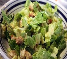 Just wanted to share this delicious recipe from Lidia Bastianich with you - Buon Gusto! Caesar Salad