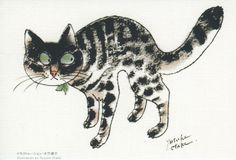 This looks like one of my girls. :) |  Illustration de Yusuka Otaka.