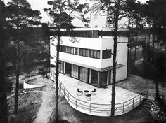 Berlin, Grunewald, Villa Rupenhorn, 1928/29 von Erich Mendelsohn.