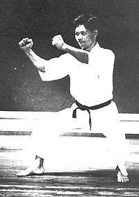 Gigō Funakoshi - widely credited with developing the modern karate Shotokan style.