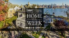 A Weehawken Mansion With Spectacular NYC Views - in 360
