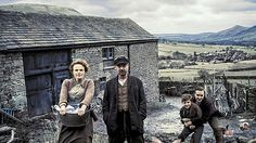 The Village: Grace (Maxine Peake), John (John Simm), Young Bert (Bill Jones) and Joe (Nico Mirallegro) Bill Jones, Nico Mirallegro, John Simm, Middleton Family, Bbc One, Remembrance Day, Moving Pictures, Derbyshire, Best Tv Shows