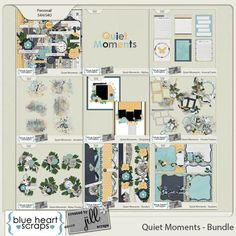 Quiet Moments Bundle by Created by Jill & Blue Heart Scraps