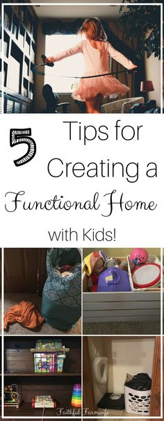Function & kids in the same sentence? Ha! Creating a functional home with children isn't always easy, but it can be done with these five practices.