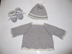 Conjunto lana recien nacido