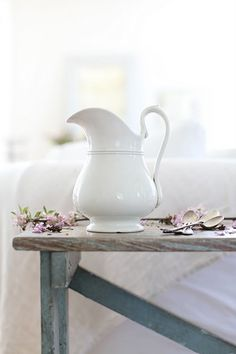 A pretty pitcher for flowers