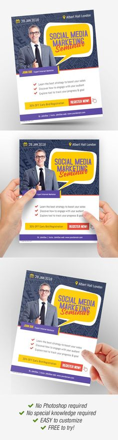 85 Best Business Flyer Template images in 2019 Business flyer