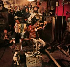 Bob Dylan and The Band - The Basement Tapes (1975). Cover photo by Reid Miles