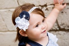 Hey, I found this really awesome Etsy listing at https://www.etsy.com/listing/241364336/denim-and-lace-headband-cowgirl-for