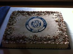 Relief Society Cake. Check out that awesome emblem. #LDS #ReliefSociety #Mormon
