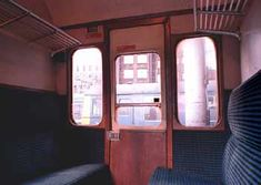 Passenger Compartments On British Trains...known to us on the Liverpool St line as the 'wibbly Wobblies'!