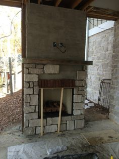 Good Photo outdoor Fireplace Screen Suggestions How we Built Our Outdoor Fireplace on our Patio Porch – Life with Neal & Suz
