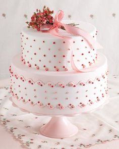 Handkerchiefs inspired this baby pink, super sweet confection that Ron Ben-Israel and MSW staffers collaborated on for our Summer 2014 issue. Gorgeous Cakes, Pretty Cakes, Cute Cakes, Amazing Cakes, Sweet Cakes, Ron Ben Israel, Fancy Cakes, Pink Cakes, Occasion Cakes