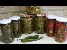 Adjika elixirul longevitatii si ardei iuti la borcan - YouTube Mason Jars, Youtube, Canning, Mason Jar, Youtubers, Youtube Movies, Glass Jars, Jars