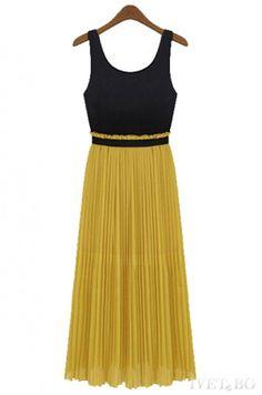 рокля SHARON MUSTARD