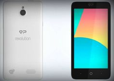This is what the Geeksphone Revolution, the dual-boot #Android and #firefox #OS #smartphone, will look like. #Gadget #technology