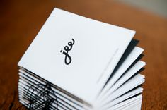 jee –business card on Behance