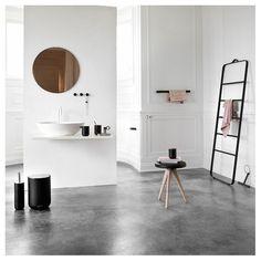 Menu Black Bath Towel Ladder by Norm Architects | Home Accessories | Vertigo Home