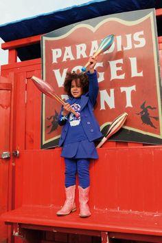 adorable! mim-pi circus collection... #circus #mimpi #cute #kids #girls #blue