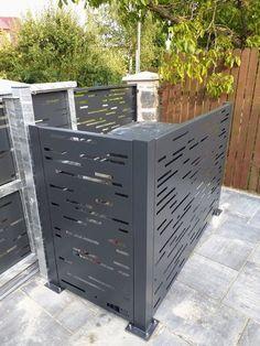 AST PLOTY moderní hliníkové ploty Fence Gate Design, Yard Design, Outdoor Screen Panels, Decorative Garden Fencing, Compound Wall, Boundary Walls, Backyard Pool Designs, Backyard Furniture, Perforated Metal