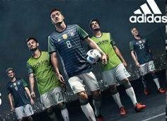 Germany EURO 2016 adidas Away Kit