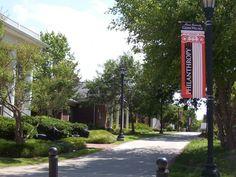 Greek Village, Mercer University, Macon, GA