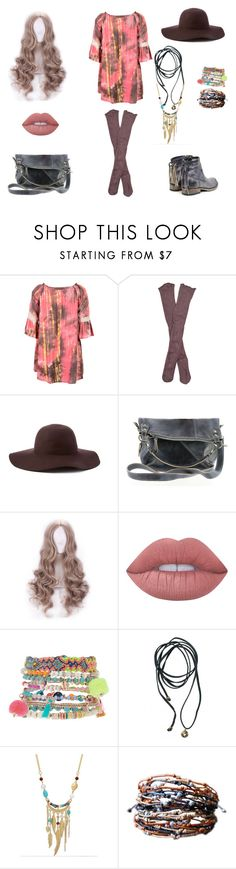 """""""Bohemian at heart......"""" by swirl38 ❤ liked on Polyvore featuring Curvy Lily, Free People, Scala, Bed