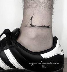 Leg tattoo designs - Badass leg tattoos for men and women . - Leg tattoo designs – Badass leg tattoos for men and women – # Designs … – Tattoo - Cool Small Tattoos, Trendy Tattoos, Mini Tattoos, Body Art Tattoos, New Tattoos, Sleeve Tattoos, Word Tattoos, Fitness Tattoos, Men's Leg Tattoos