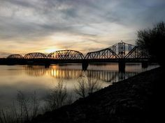 The Missouri River Missouri River, South Dakota, Good Old, Bridges, Roads, Places Ive Been, Paths, Trail, United States