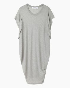 Chalayan Black | Seaweed T-Shirt Dress | La Garçonne