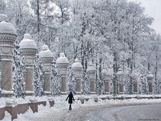 .Зимняя сказка - Санкт-Петербург.Россия.