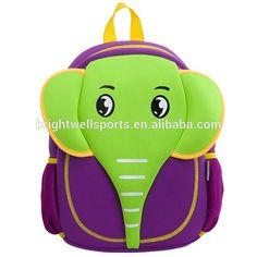 Top Quality Wholesales Fashion Beautiful Cute Plush Animal Kids School Backpack