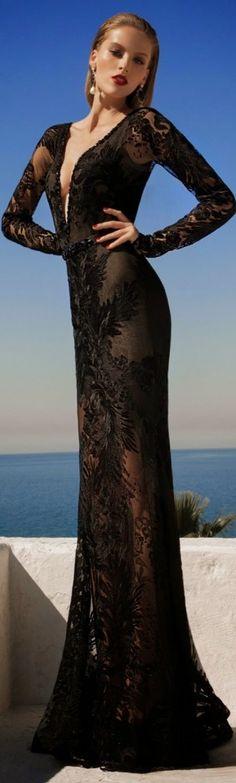 MoonStruck ~ Evening Dress By Galia Lahav