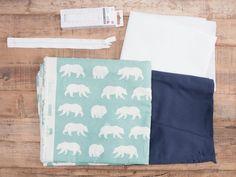 Tutorial DIY: Uszyj prostą torbę z gotowego wykroju przez DaWanda.com