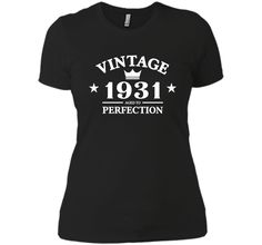Vintage 1931 Aged To Perfection - 85th Birthday Gift T-Shirt