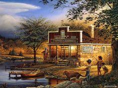 Free Art wallpaper - Terry Redlin wallpaper - 1600x1200 wallpaper ...