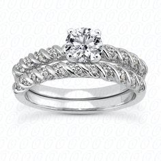 NEW DIAMOND ENGAGEMENT SET