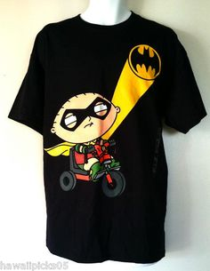 Family Guy's Stewie as Robin t shirt.