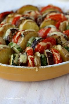 Mango & Tomato: Barefoot Contessa's Vegetable Tian